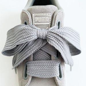Puma Suede Classic Basketweave Laces size 8